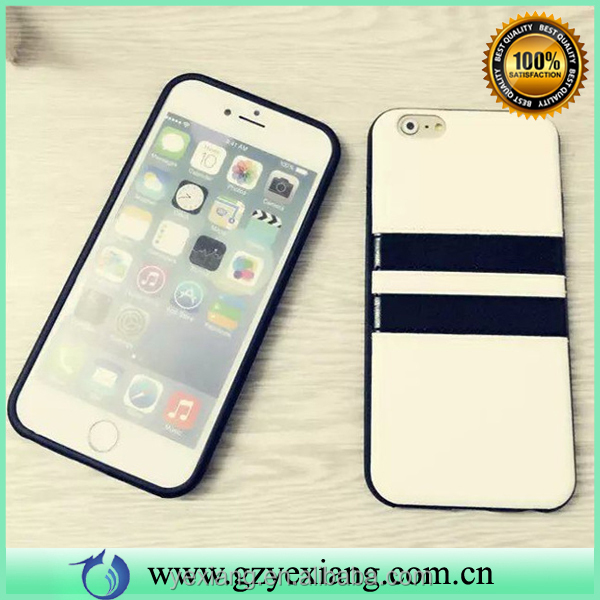 New fashion back cover stripe pattern case for iphone 6 plus cover case