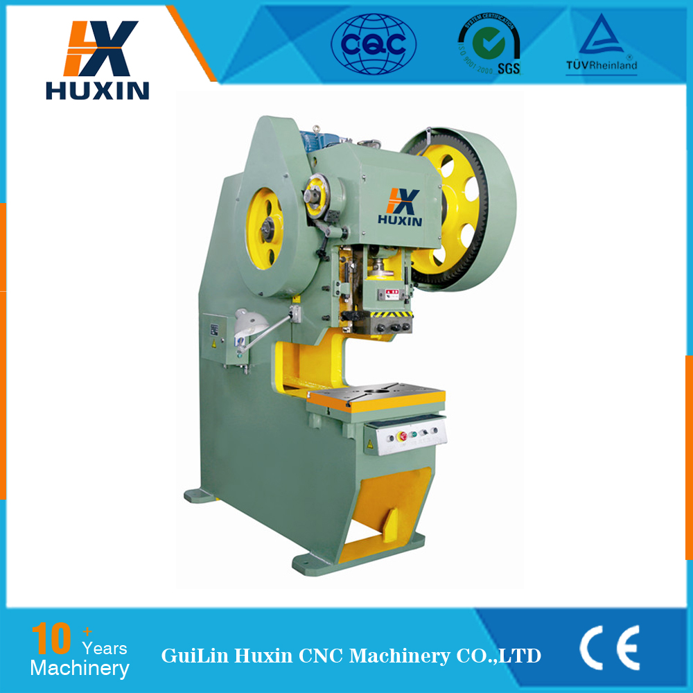 J23 / J21 10 ton punch press machine mechanical power punching machine