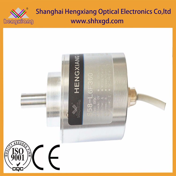 Hengxiang encoder S58 sensor module of 10mm manufacturer 250 pluse 250ppr 3 wires