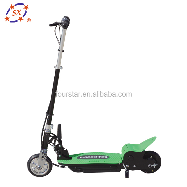 Kids ride on toy electric E scooter 120 watt with seat
