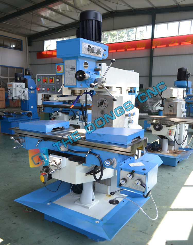 made in China vertical drilling and milling machine for sale