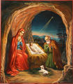 guardiance Jesus birth hot sale large wall 5D diamond painting