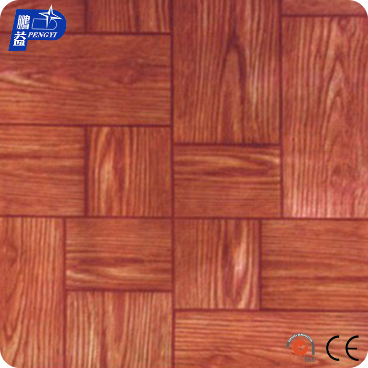 OEM Smell-Less Household Laminate Flooring Vinyl / PVC Floor Mat / Roll