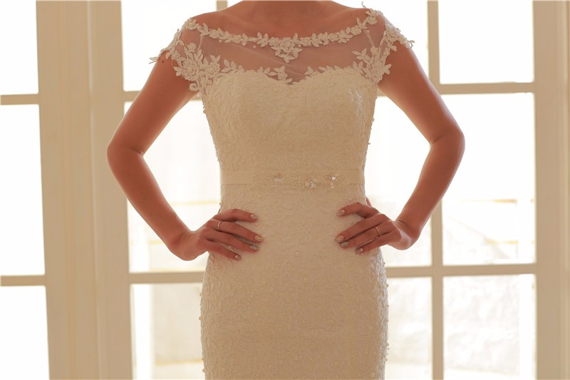 Latest Designs Mermaid Designs Ball Gown Bottom Wedding Dress Bridal 2017