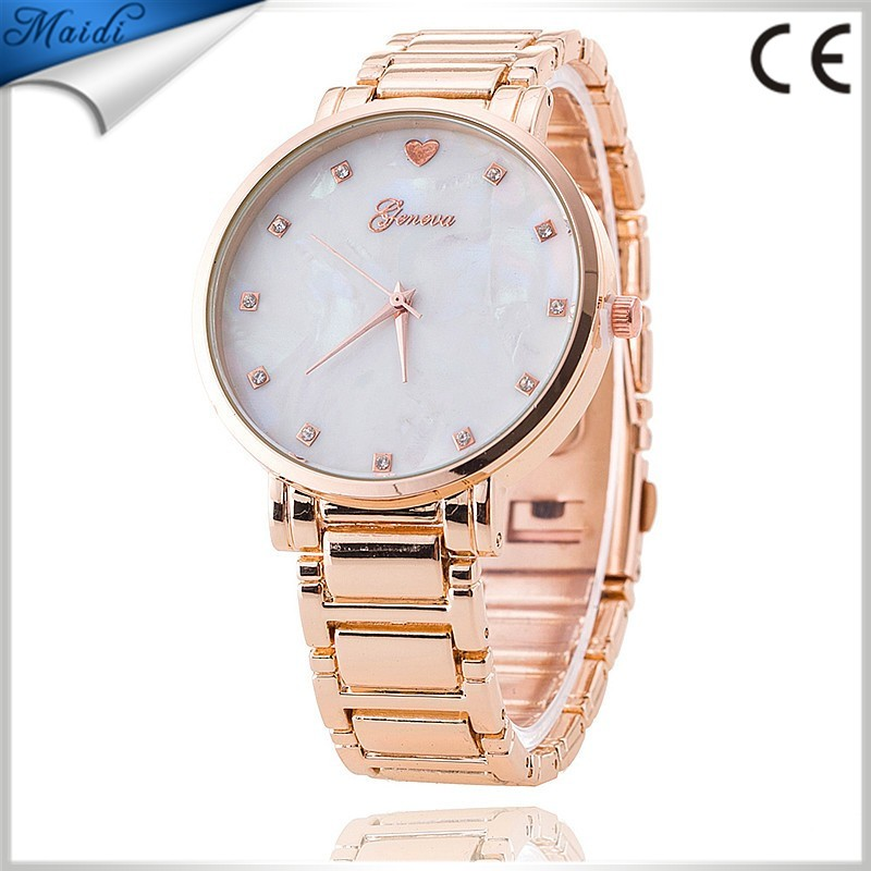 Fashion Men Casual Business Stainless Steel Waterproof Wristwatch Dress Watches Geneva Watches Reloj Watch GW041