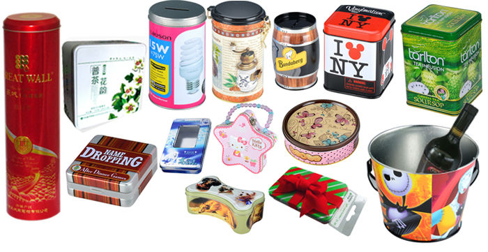 wholesale metal empty tinplate battery tin box