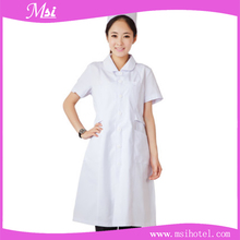 short sleeves soft breathable fashionable hospital nurse uniform