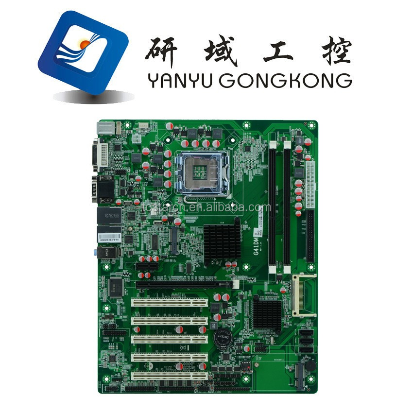 China x86 Intel OEM Motherboard Intel G41 Socket 775 Processor DDR3 10xCOM 2xRJ-45 Lan