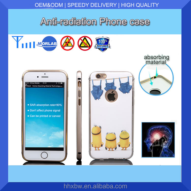 Non-slip Anti-radiation fashion s6 for cell phone case packaging