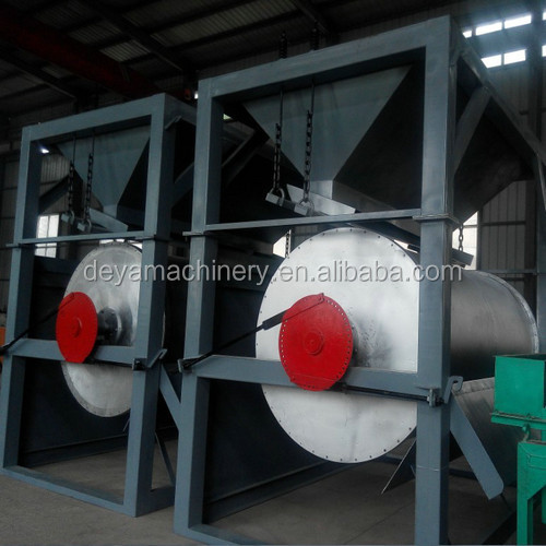 dry iron ore magnetic separator for magnetite concentration plant