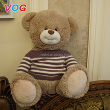 New design environmental safety material kid big large teddy bear factory china