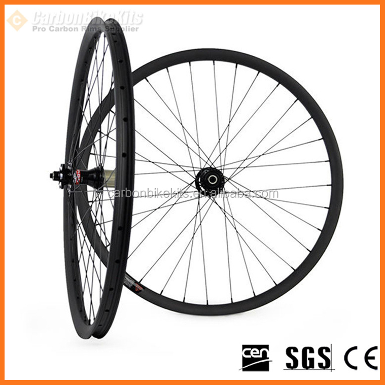 High Quality CarbonBikeKits 27.5er carbon mountain bikes wheels,650b 27mm wide tubuless mtb wheelset XCS650-27
