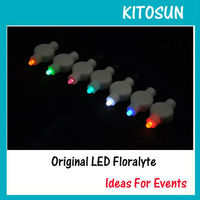 Party decoration 11 Colors Super Bright Mini Floralyte Lights For Paper Lantern