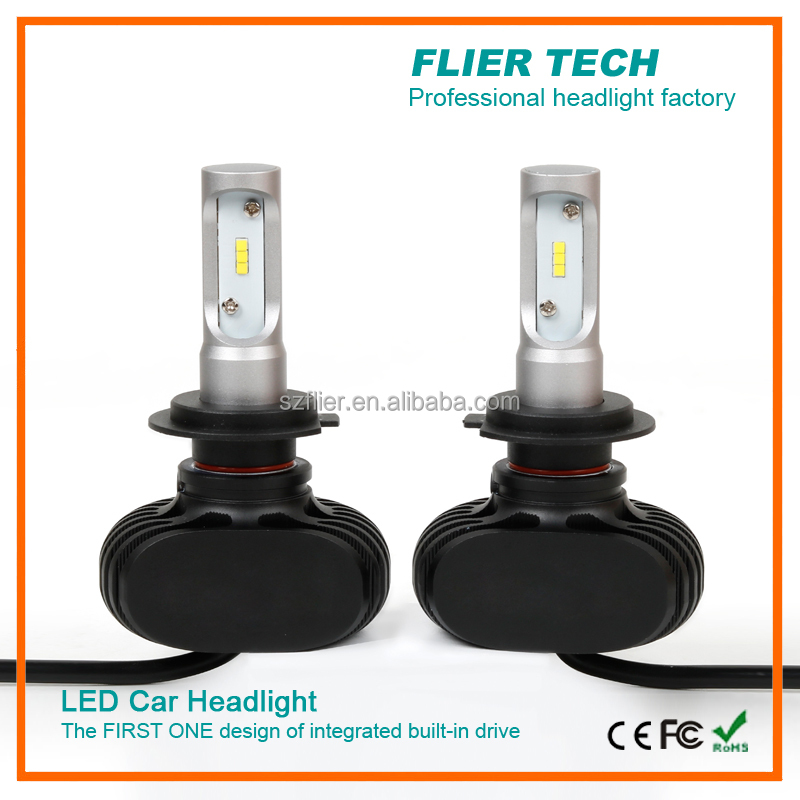 New G6 CSP chip 40W 4000LM car led headlamp <strong>bulbs</strong> with fanless design