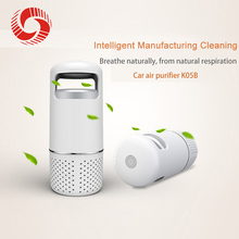 PM2.5 auto vehicle air purifier Portable 12V hepa home car air purifier remove smog odor