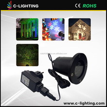 Christmas Projector Lamp outside decoration White Snowflake LED Landscape decoration Projection Lights