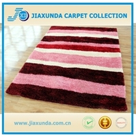 Hot sales 100% silk yarn oversize livingroom decor shaggy rug with cheap price