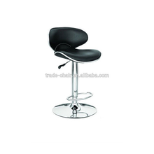 Lower price latest design modern adjustable swivel function saddle-shaped bar chairs
