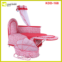 China manufacturer NEW design baby crib , baby crib importers Red Baby Bed