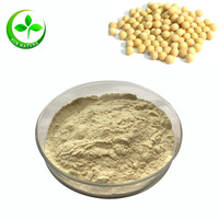 Alibaba Gold Supplier 100% Natural Organic Soybean Extract With Soy Isoflavone