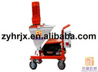 High efficiency cement plastering machine for wall