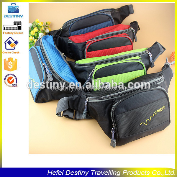 waterproof colorful outdoors leisure sport tool waist pouch