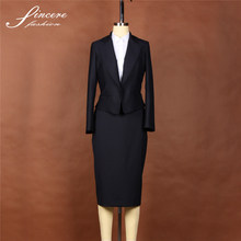 Ladies wool/Polyester blazers suits business suits custom suits