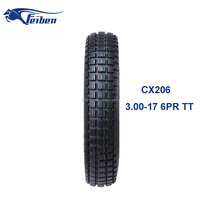 CHINA FEIBEN TYRE FACTORY MOTOR CROSS TYRE 3.00-17