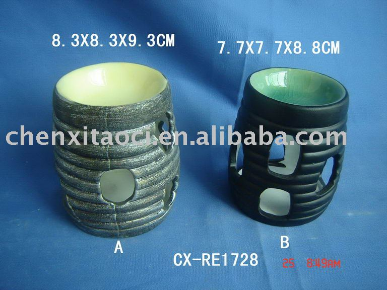 ceramic fragrance oil burner-porcelain oil burner-Electric Candle Warmer and Oil Burner