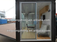 Classcal prefab container house design for office house
