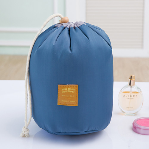 New Brand Cosmetic Makeup Bag Travel Large Capacity Necessary Barrel Multifunctional Packaging Case Female Toilet Kit Bages