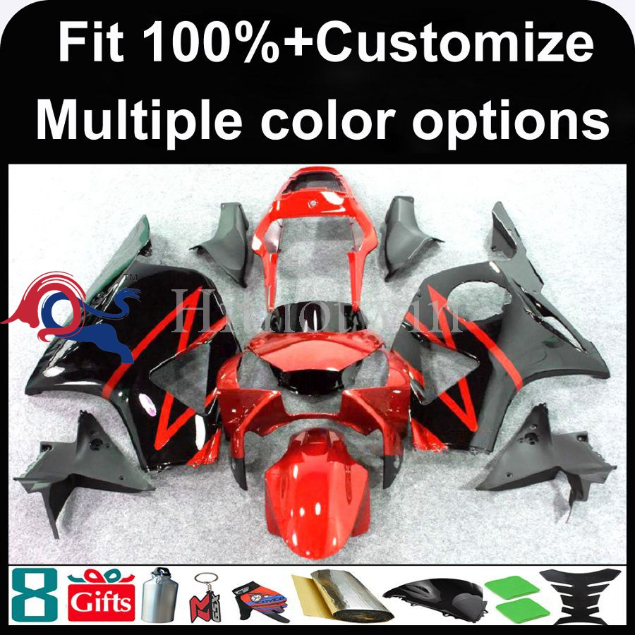INJECTION MOLDING panels 2002 2003 CBR 954RR For HONDA CBR 900RR 2002-2003 red ABS Fairing Fit CBR900 954 2002 2003
