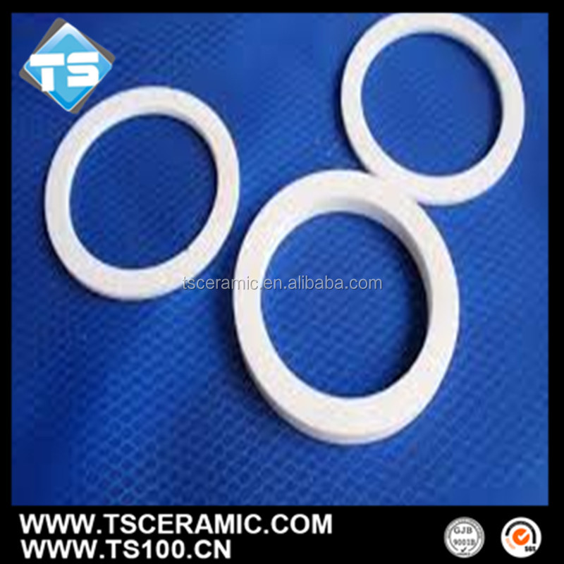 Industrial Insulation Mechanical Seal Alumina Ceramic Ring for Pump Seal