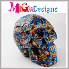 Skull Canister Ceramics Sweeties Jar with Lid OEM