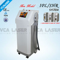 SHR ipl hair removal with Five IPL filters beauty salon equipment for sale