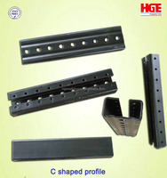 Popular manufacturer C-shaped extrusion steel profile
