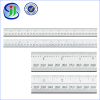Made in China stainless 30cm steel rolling ruler