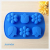 Promotional Christmas 3D sugar paste silicone cake tools