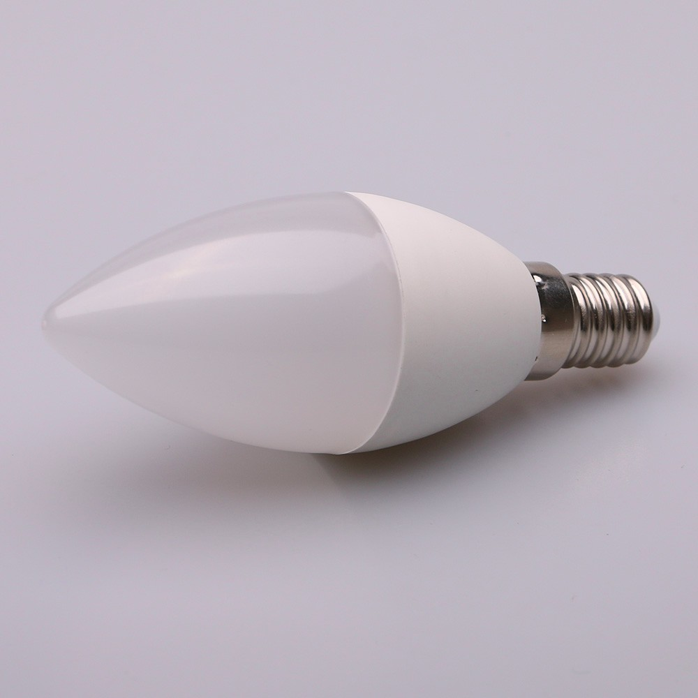 hot selling of LED SMD C35 AC85-265V 3w 4w 5w 7w candle led lighting bulb E14/E27 lamp high lumen