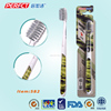 China Camo Printing Slim Spiral filament Toothbrush