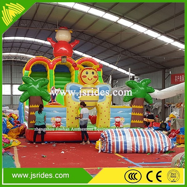 Inflatable Bouncing Castle Combo /inflatable bouncer slide