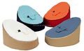 assorted colors option bab bean bag chair, micro soft suede beanbag sofa harness seat