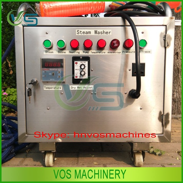 Convenient used car washing machine for sale/movable steam washing car machine