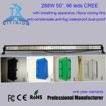 "straight 6"" 8"" led light bar cover"