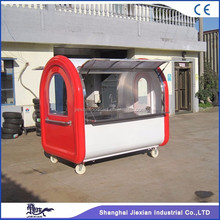 2017 Jiexian hot selling mobile street food vending van for sale JX-FR220E