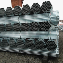 Q195-235 Material 1.5 inch Scaffolding Welded Galvanized Steel Pipe / Tube for greenhouse