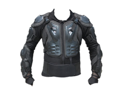 motorcycle suit for body armor protection