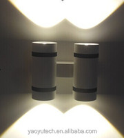 New-design ultra brightness housing up and down colorful ceiling mounted LED wall lamps spot lighting China manufacturer
