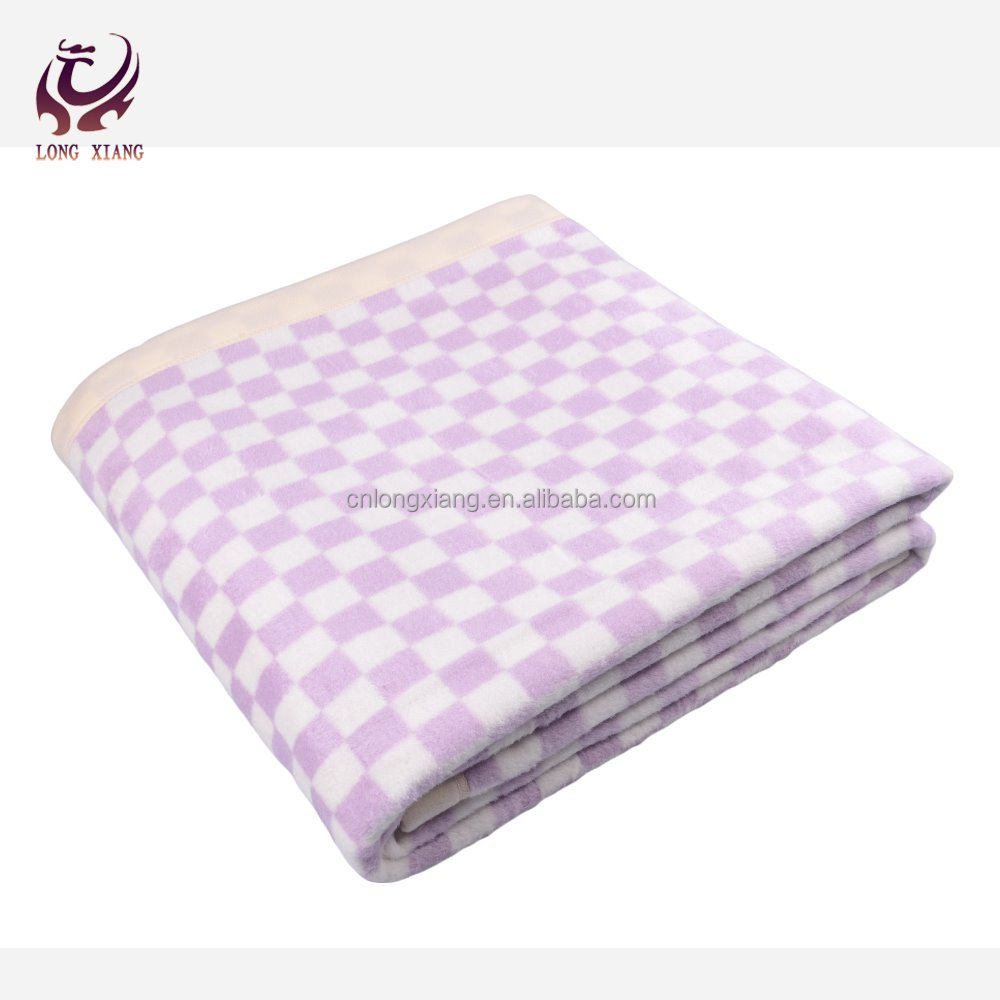 High Quality Factory Price Checked Brand Names Of Blanket