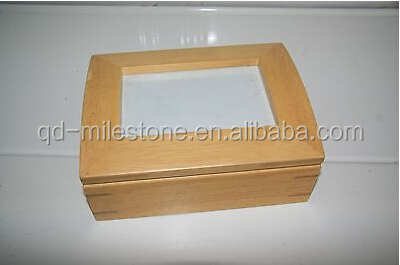 Hinged Wood Photo Frame or Jewellery Box